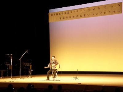 童謡コンサート(keiさんのステージ1曲目)