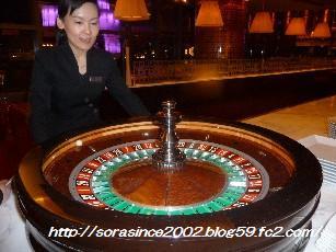 レストランでカジノゲーム☆