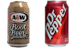 ROOT BEER & Dr.Pepper