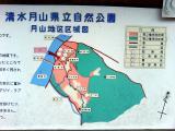 広瀬・富田城(周辺の案内図)