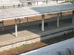 中央駅ホーム