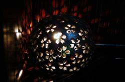 陶器のランプ