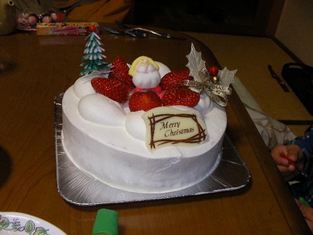 工務店からのケーキ