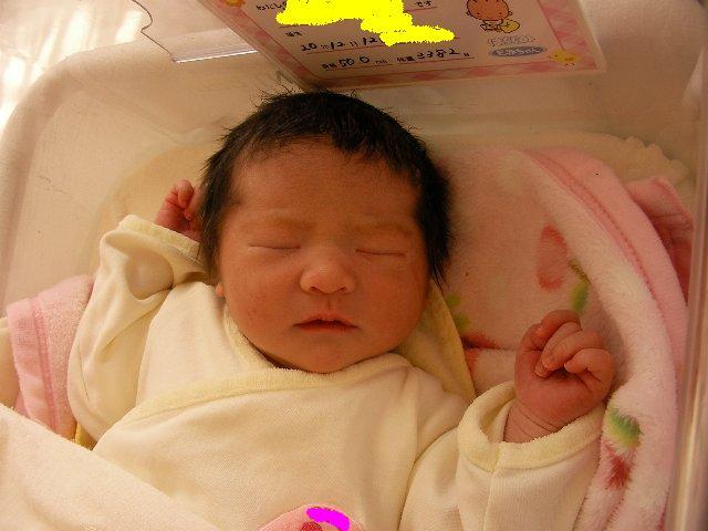 長女誕生2