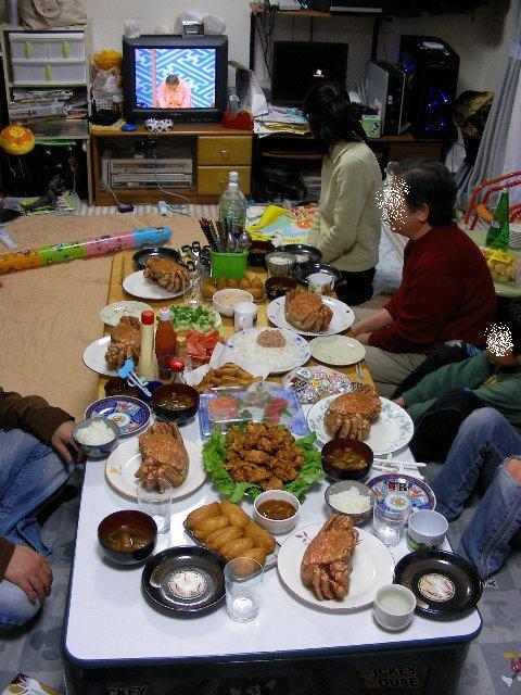 2009カニ祭り~1