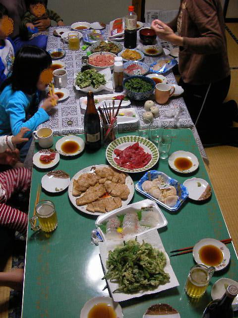 山菜の食卓