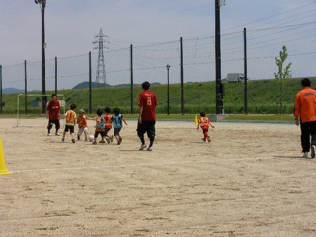 サッカー教室体験1