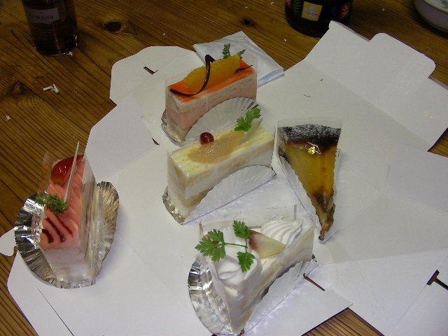 誕生日のケーキ1