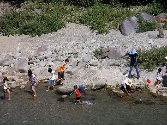 下呂の川1