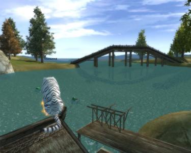 川の向こうは祖龍・・・・・・