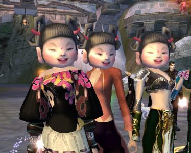 人形3姉妹