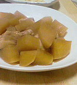 チキンと大根の煮物