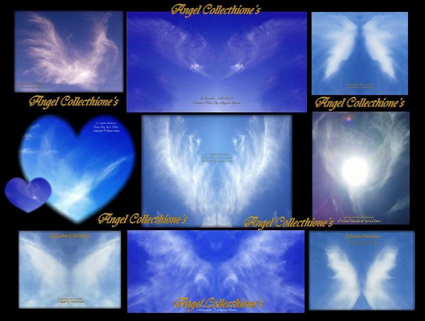 天空の意識表現 翼の天使