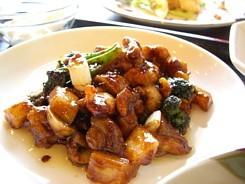 鶏肉の味噌炒め