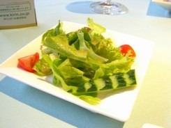 西洋野菜のサラダ