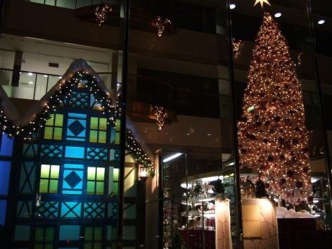 松坂屋本店南館オルガン広場クリスマスイルミネーション