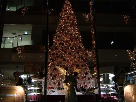 松坂屋本店南館オルガン広場@クリスマスイルミネーション
