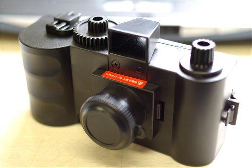 雑誌の付録カメラ、ピンホール写真とるぞぉ~