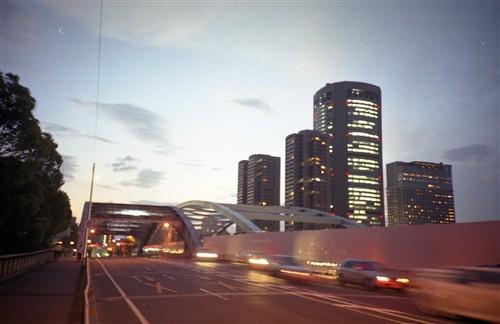 銀橋橋上1