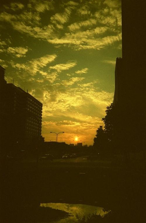 9月2日の夕焼け@東京