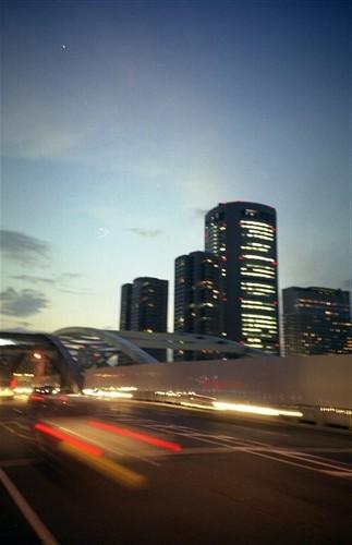 銀橋橋上3