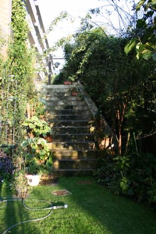 階段の片付け完了1