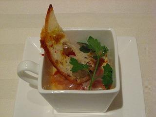 バスク風野菜の煮込み、温玉のせ・・・