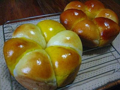 カボチャミルクパン