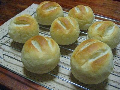 道産小麦のテーブルロール