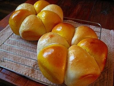 かぼちゃツインパン