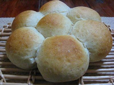 釜焼きグラハムミルクパン