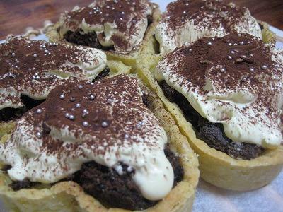 ティラミスホワイトチョコタルト