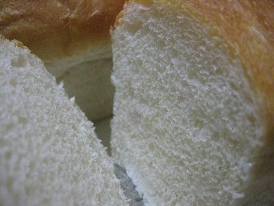 天然酵母のプレーン食パン4