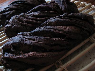 ダークチョコツイストパン1