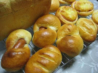 実家パン作り