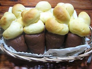 ソフトクリームパン4