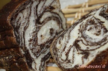 マーブルチョコ食パン