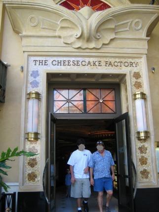 チーズケーキファクトリー1