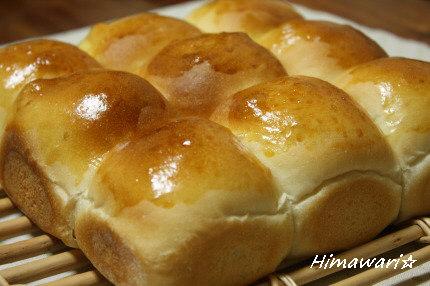 酵母はちみつミルクちぎりパン