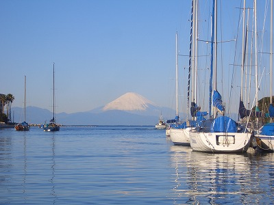 富士山とサニークイーン