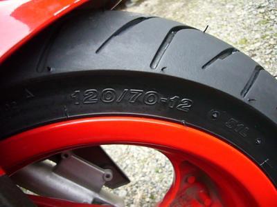 スーパー9s タイヤ交換 ブリジストン HOOP