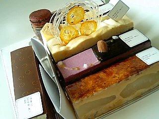 パティスリーサダハルアオキ ケーキ色々