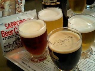 麦酒記念館 生ビール飲み比べセット