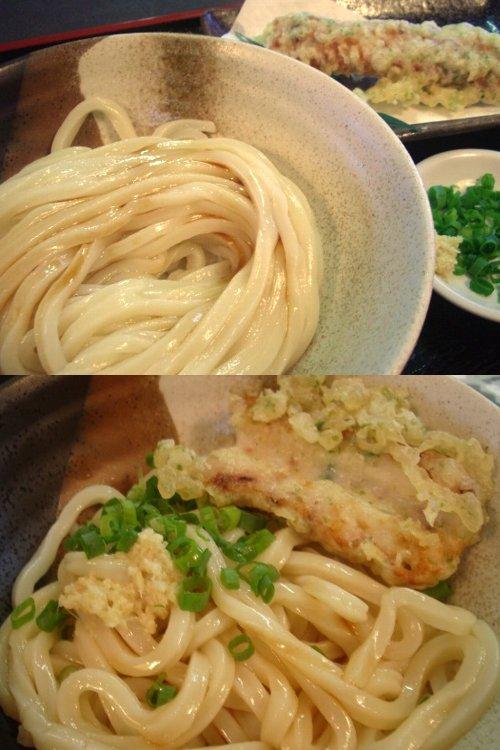 SIRAKAWAの葱油醤油うどん