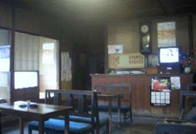松尾食堂の店内