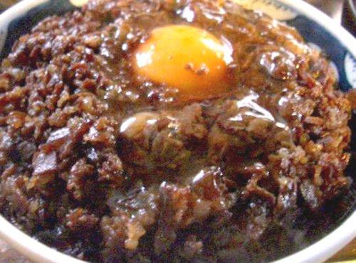 松尾食堂の肉丼