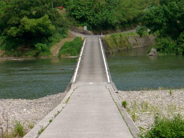 勝間沈下橋2