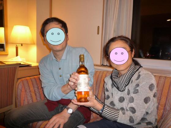 25年もののワインでお祝い☆