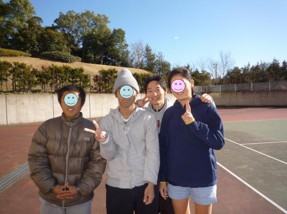 みんなでテニスを楽しみました!