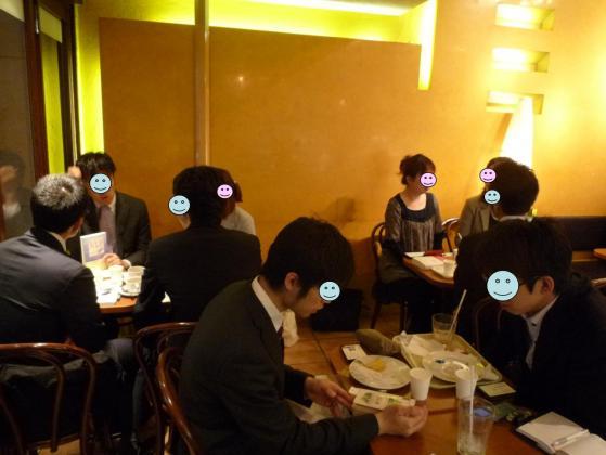 第57回読書朝食会の様子です☆